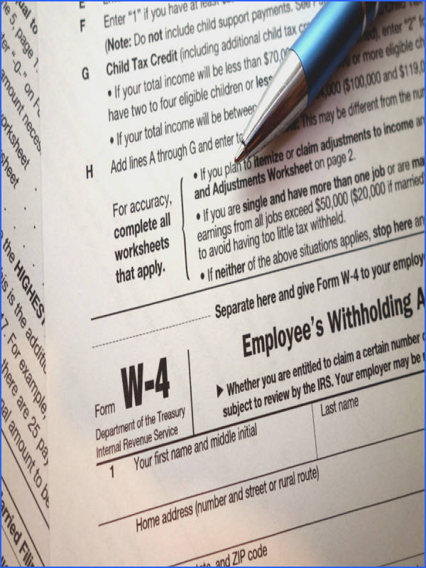 The IRS has made major changes to Form W 4 worksheets as well as the agency s online withholding calculator