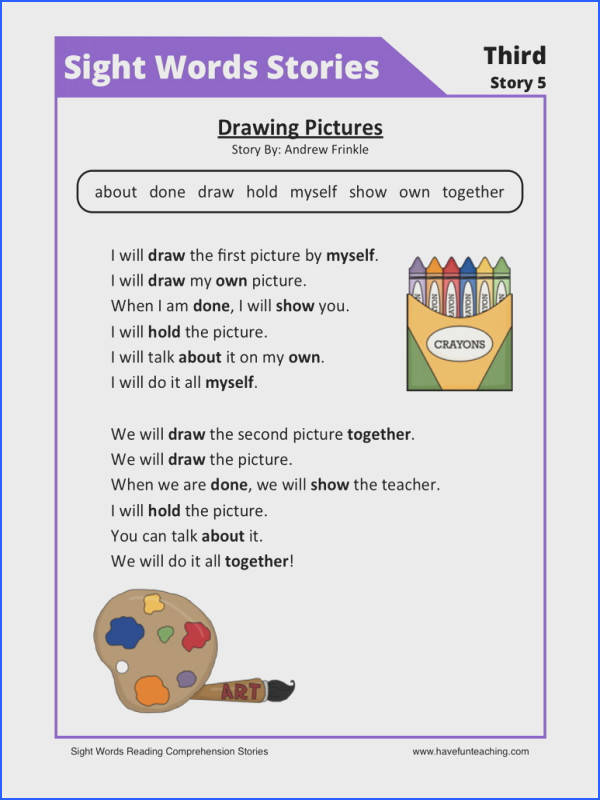 Fascinating Teaching First Grade Reading prehension With Additional Reading Prehension Worksheet Drawing of Teaching
