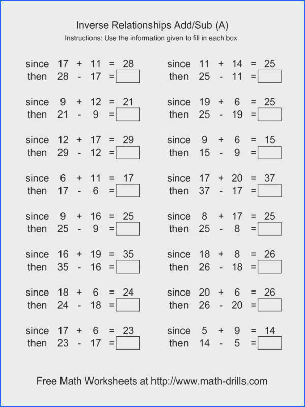 The Math Worksheet Site Answers Worksheets for all Download and Worksheets