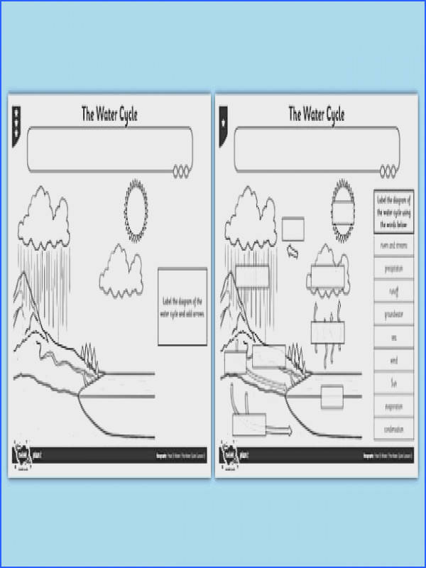 The Water Cycle Worksheet Activity Sheet water cycle activity sheet worksheet