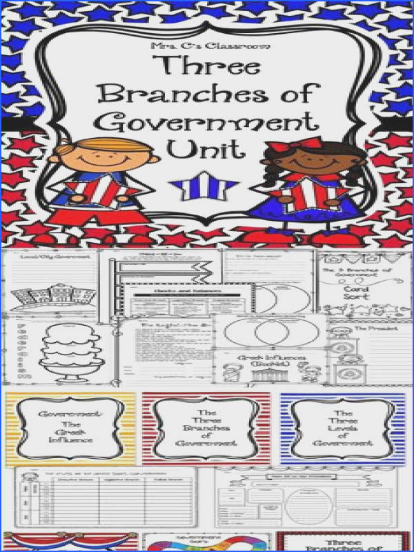 GOVERNMENT Social Stu s Unit Three Branches of Government Levels Greek