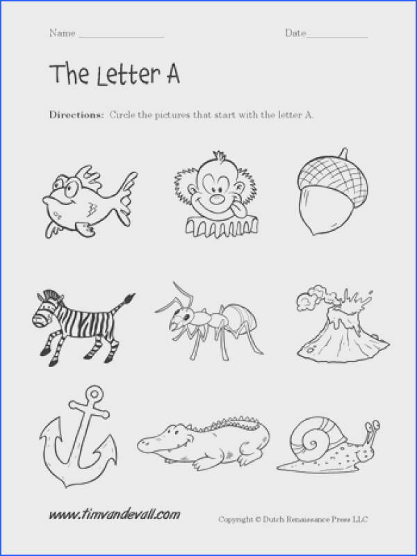 This collection contains a bunch of letter tracing worksheets and letter coloring pages for preschool
