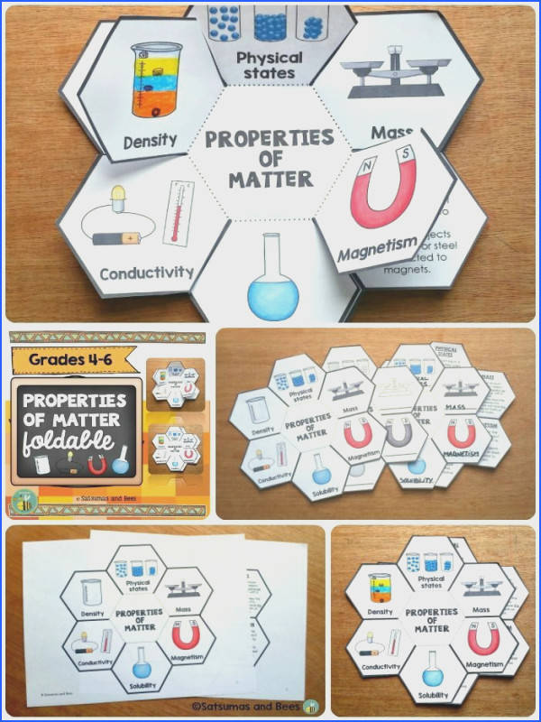 This foldable will help your students classify matter by its physical properties This resource may