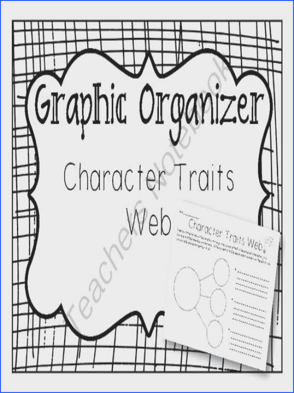 This Graphic Organizer is a worksheet intended to help students identify character traits