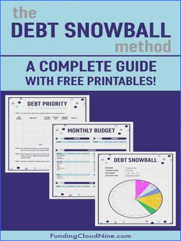 This is the ultimate guide to Dave Ramsey s debt snowball method Use these free debt