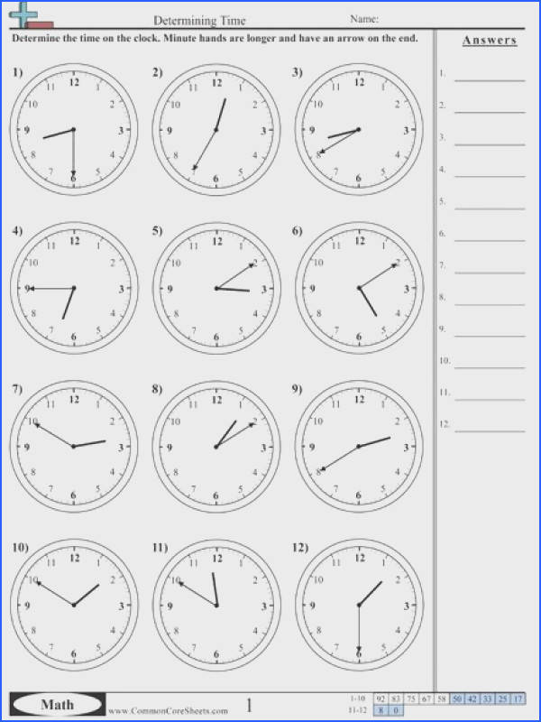 Time Worksheets selection of US worksheets useful for maths and other subjects spanish