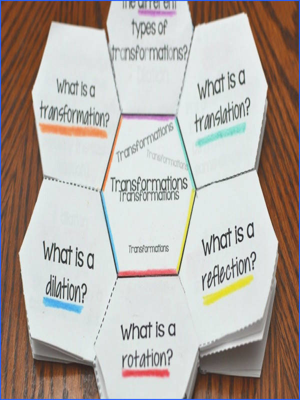 transformations translations reflections rotations dilations transformations worksheet transformations activity