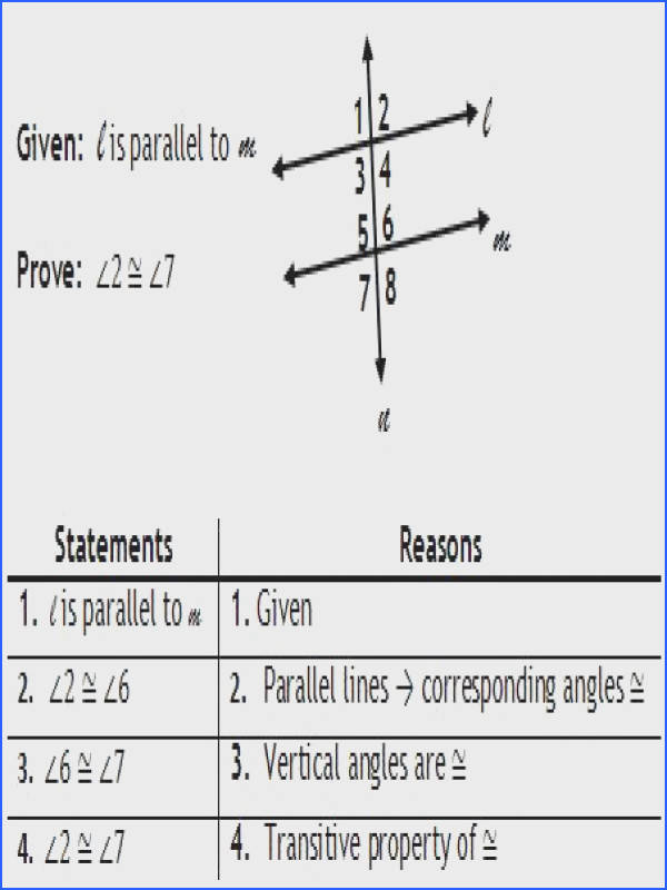two column proofs worksheets with answers