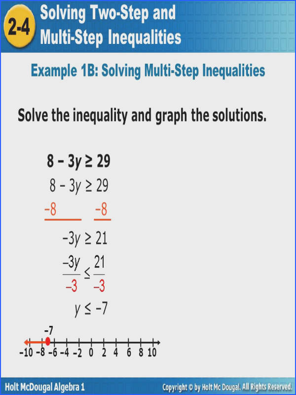 Two Step Inequality Word Problems Worksheet Fresh Objective solve Inequalities that Contain More Than e Operation