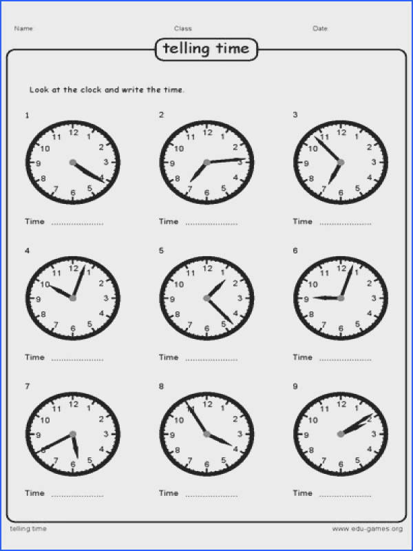 Very easy flexible and fast telling time worksheet maker With enough options to customize