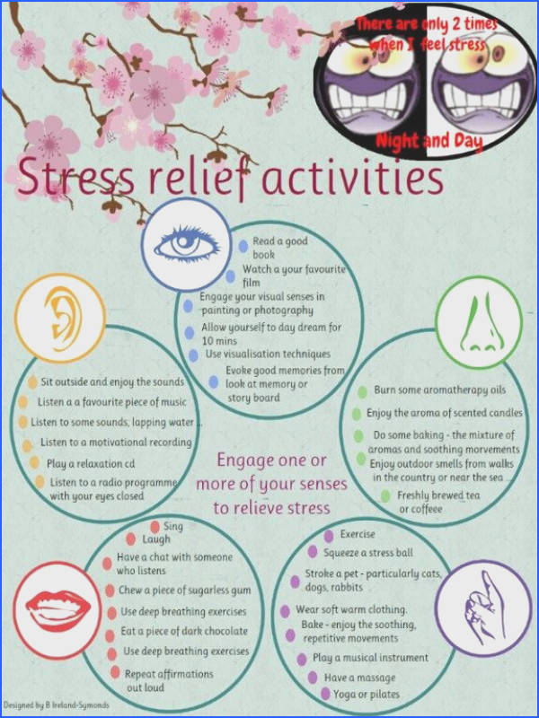 Stress relief for people who simply need it due to substance abuse personality disorders etc