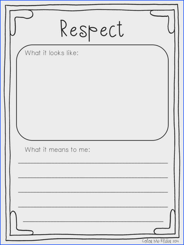 A 1st Grade Lesson on Respect I absolutely love the book What If Everybody Did That by Ellen Javernick For those of …