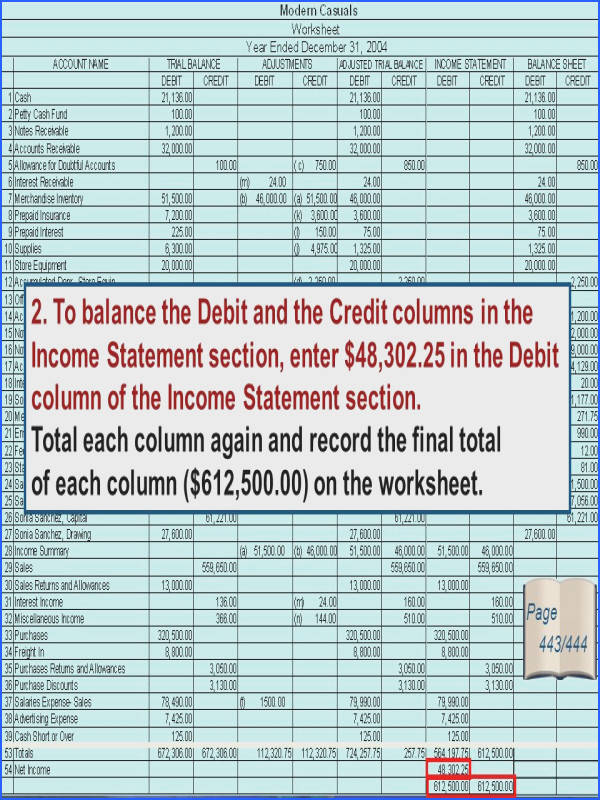 Where Are The Sections A Financial Statement Worksheet Worksheets for all Download and Worksheets