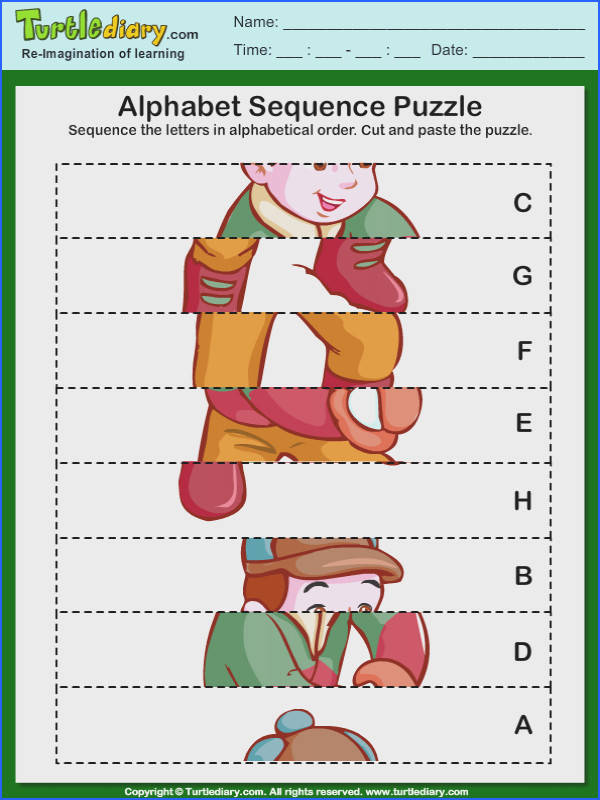 Winter Puzzles Sequencing