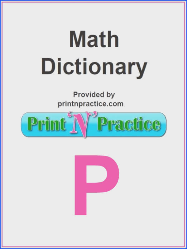 Math Words That Start With P For where your math glossary leaves off Check