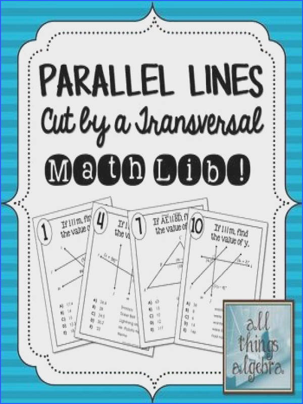 Worksheet 3 Parallel Lines Cut by A Transversal Answer Key New 3004 Best Teaching Math