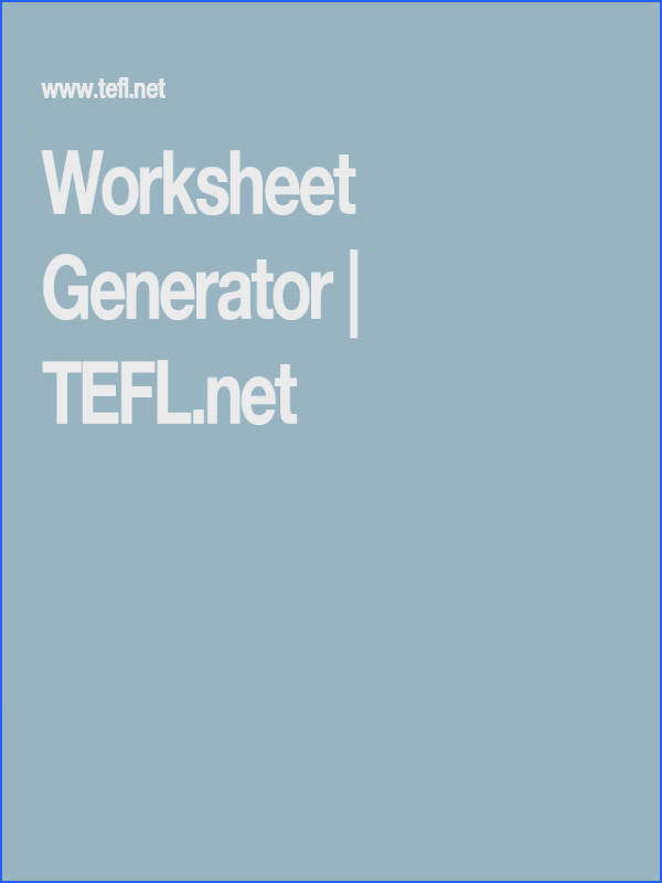 Make your own worksheets We have a word search maker an ABC order worksheet creator math generators and more