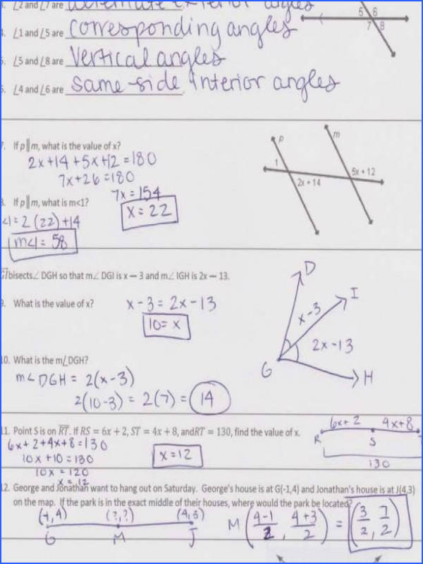 Full Size of Worksheet Template unit 4 Parallel And Perpendicular… Geogebrabook Proving Lines