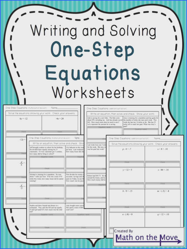 Writing And Solving Equations Worksheet Worksheets for all Download and Worksheets